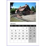 Настінні календарі А4 вертикальні