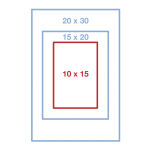 10 x 15 см